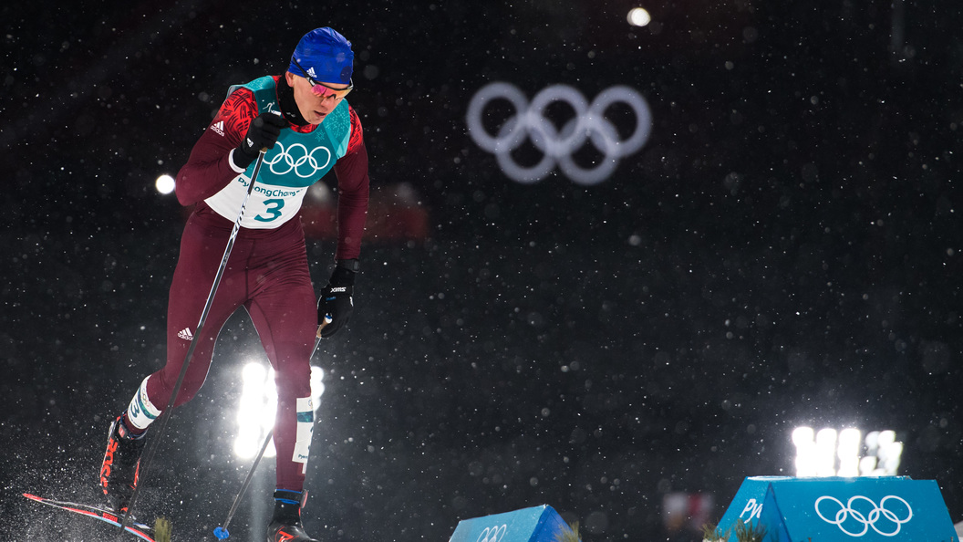 Александр Большунов – обладатель бронзы Игр-2018