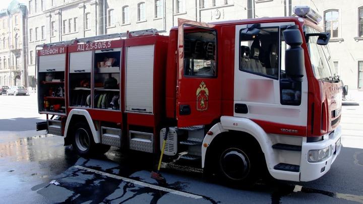 В Ростове подросток пострадал во время ночного пожара