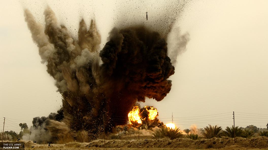 У военной базы США в Афганистане прогремел взрыв