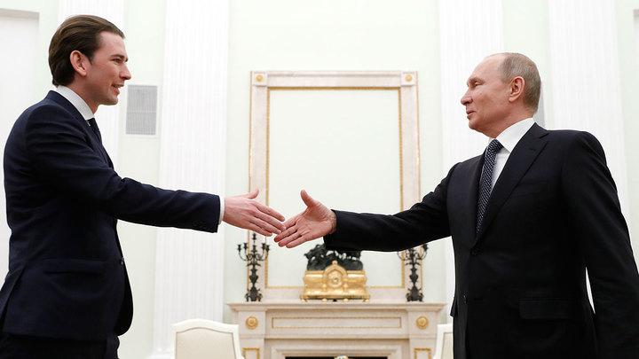 Зачем Курц приехал к Путину