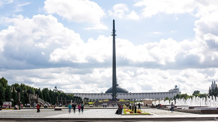 «Москвичи на службе России. Звездный призыв» в парке Победы