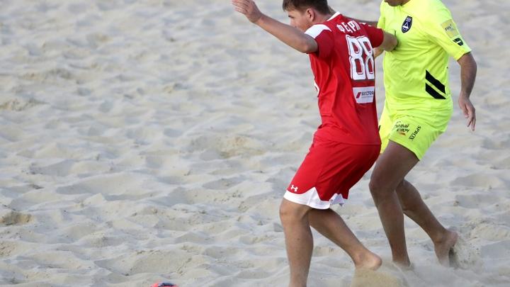 Сборная Беларуси попала в Суперфинал Евролиги по пляжному футболу