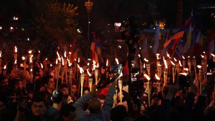 Факельное шествие сегодня пройдет в Ереване