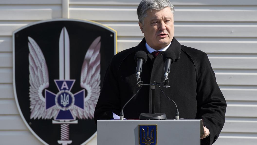 Порошенко хочет обсудить вГермании размещение миротворцев вДонбассе