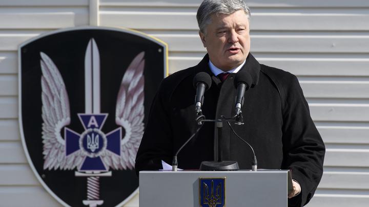 Порошенко распланировал на год, как достучаться до НАТО