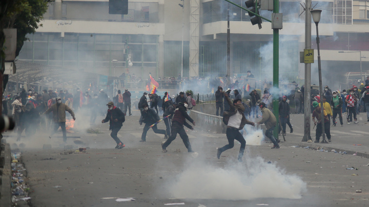 Всё как на Украине: Демократические власти в Боливии морят сторонников экс-президента - соцсети