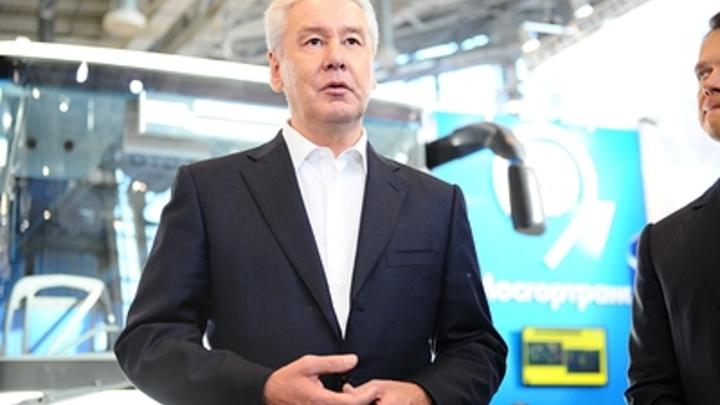 Собянин в лидерах: Почти 70% москвичей выбрали действующего мэра столицы