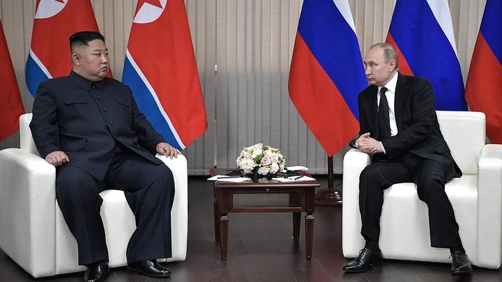 Переговоры Путина и Ким Чен Ына длились почти два часа за закрытыми дверями. Президент России сделал заявление