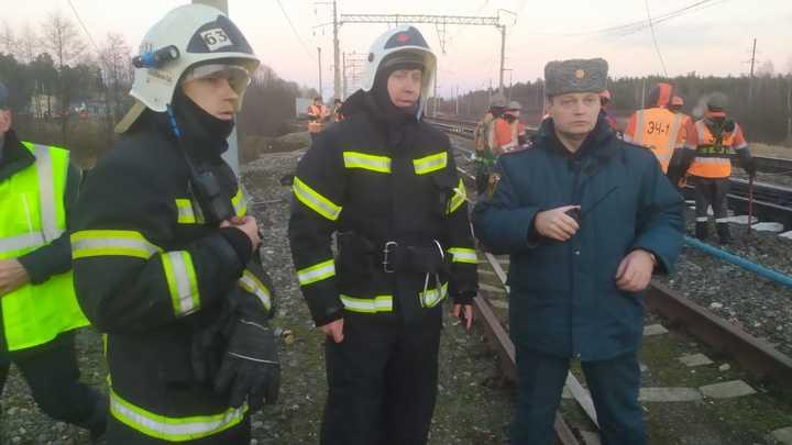 Авария на Горьковской железной дороге признана чрезвычайной ситуацией