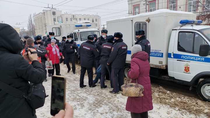 Как прошли митинги навальнистов в Иванове и Владимире 23 января