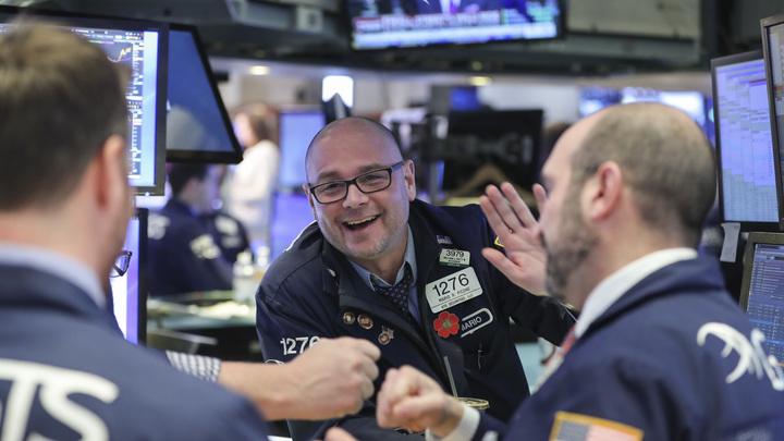 Американские биржи растут на позитивных новостях