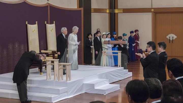 Новый император Японии дал обещание народу