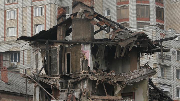 Дом с вековой историей сносят ради элитной многоэтажки в Новосибирске