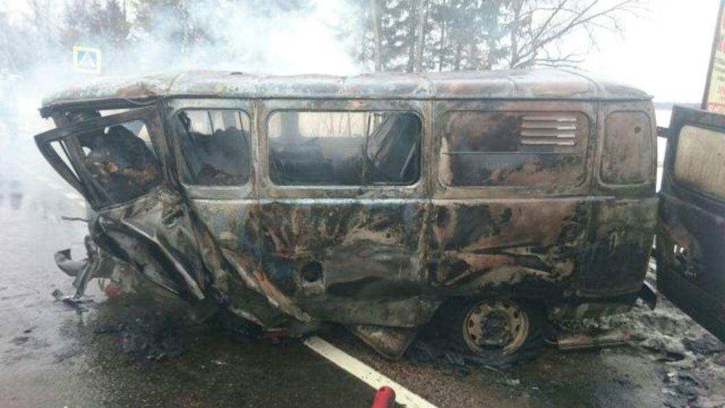 В результате ДТП в Новой Москве погибло 8 человек - фото