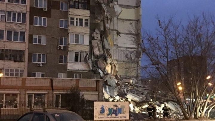 Число жертв обрушения секции дома в Ижевске выросло до 5