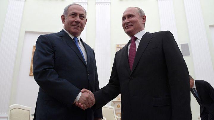 Путин: Необходимо совершенствовать российско-израильское взаимодействие по военной линии
