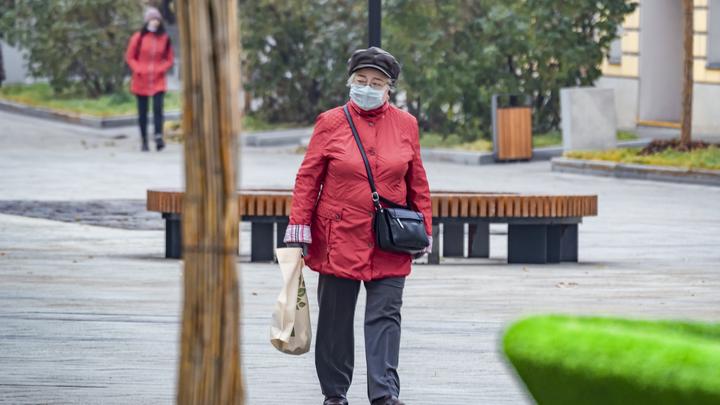 Жители Новосибирской области старше 65 лет стали реже заражаться коронавирусом