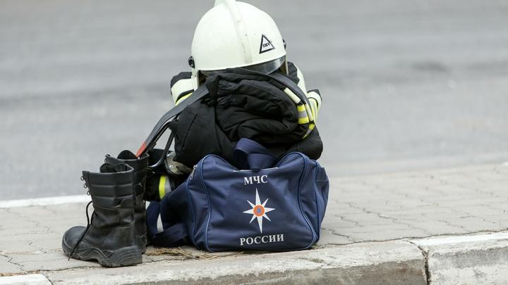 В Ижевске пожар уничтожил один из главных символов города - видео