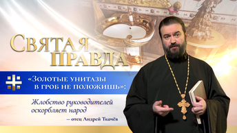 Золотые унитазы в гроб не положишь: Жлобство руководителей оскорбляет народ — отец Андрей Ткачёв