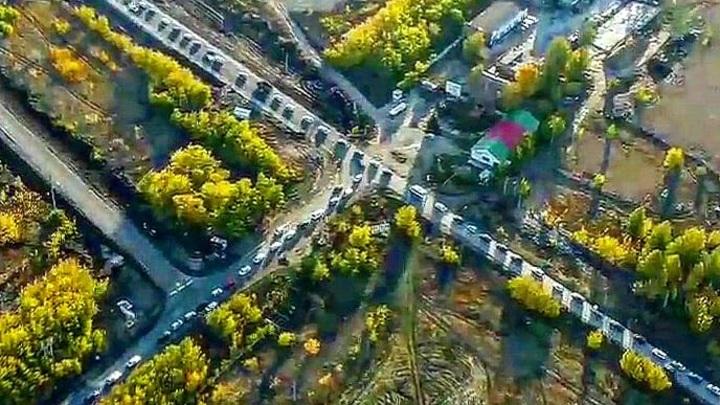 Жители села Ягодное в Самарской области пожаловались на рекордные пробки