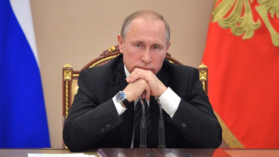 Путин назвал новые санкции циничным обеспечением экономических интересов США