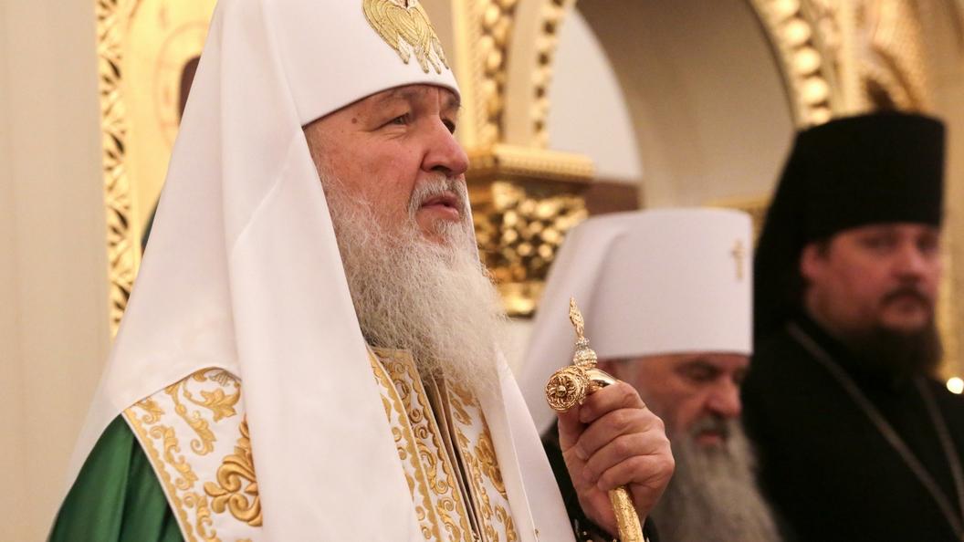 Патриарх Кирилл: За фасадом цветных революций скрывается желание подчинить других силой