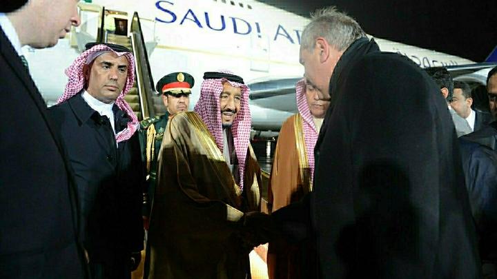 Король Саудовской Аравии: мы с Россией совпадаем во взглядах на многие проблемы