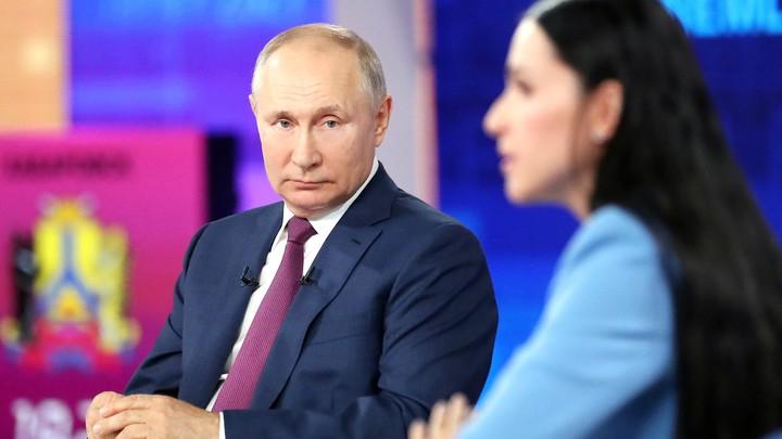 Скучно, девочки?! Лучший ответ на прямой линии Путина дали без слов
