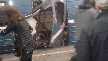 10 человек погибли при взрыве в метро Санкт-Петербурга