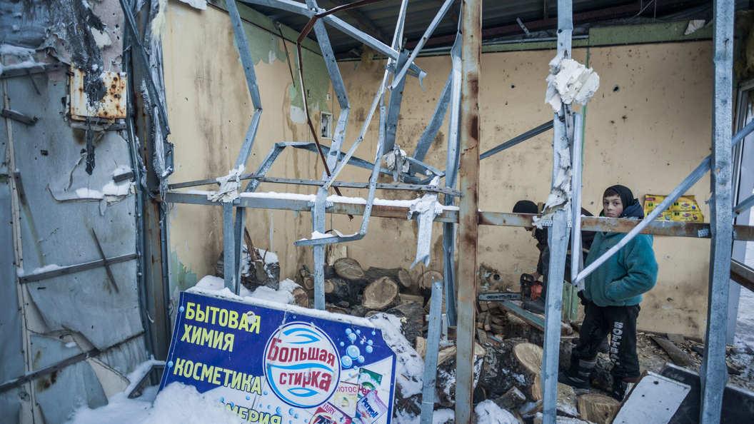 Красный Крест подсчитал число убитых мирных жителей в Донбассе