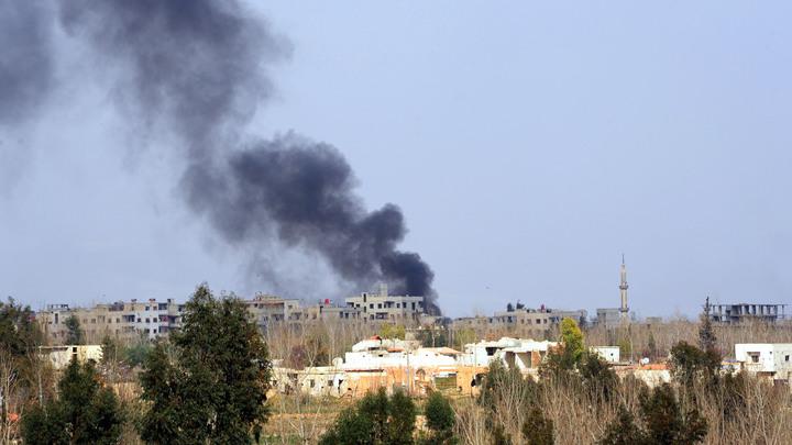 Сирийские военные лишили террористов Восточной Гуты живого щита