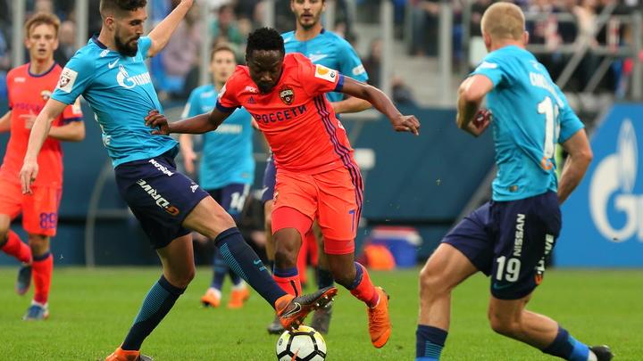 Зенит и ЦСКА славно порубились и отдалили себя от чемпионства