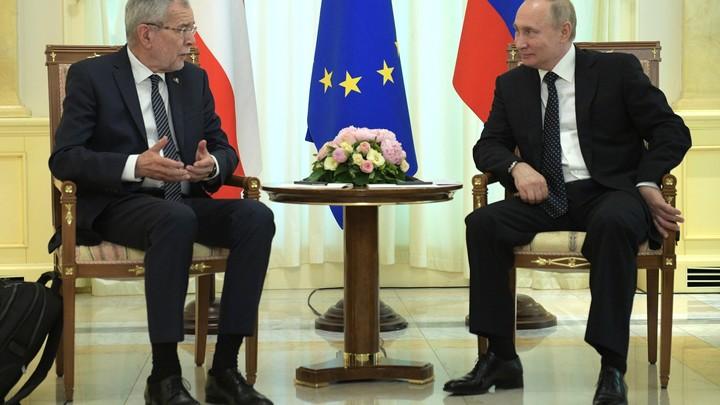 Один из лучших моментов за четыре года: Президент Австрии о встрече с Путиным в Сочи