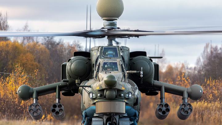 Наводить порядок в Карабахе будут русские боевые вертолёты