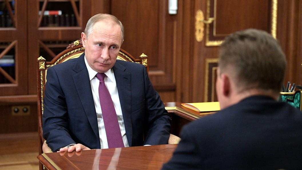 Путин предложил главам Роснефти и АФК Система поговорить между собой