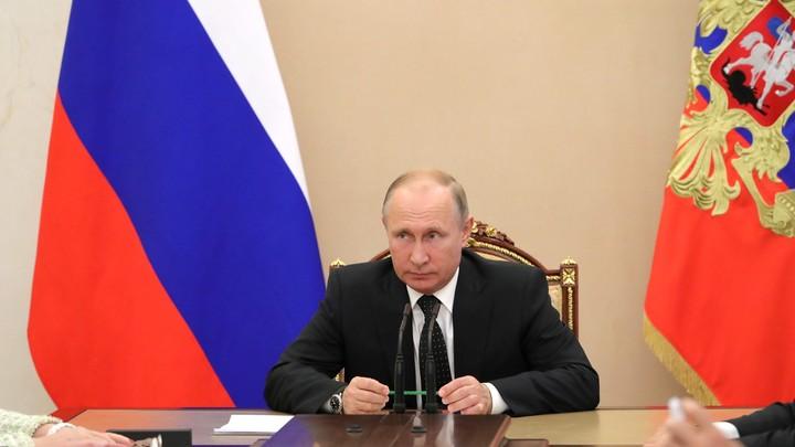 Путин обсудил с Совбезом подготовку к предстоящему матчу сборной России