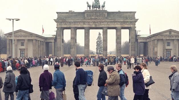 Растворение Берлинской стены