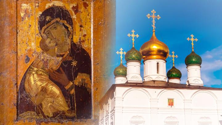 Владимирская икона Божией Матери. Православный календарь на 8 сентября
