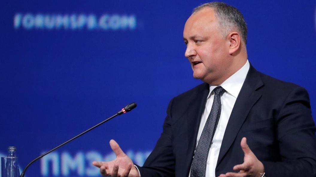 Игорь Додон: Мы не сможем стать членом ЕС