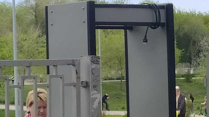 В Новокуйбышевске на День Победы забыли о мерах безопасности и терроризме