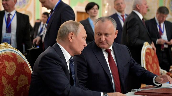 Рано списали: Кремль подтвердил встречу Путина и Додона