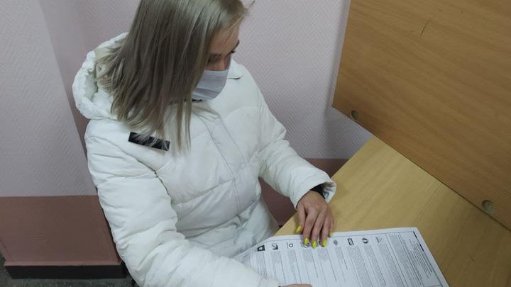 У входа на избирательный участок в Екатеринбурге предлагали деньги за голос