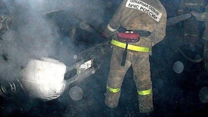 В Шуйском районе ночью опять сгорела машина
