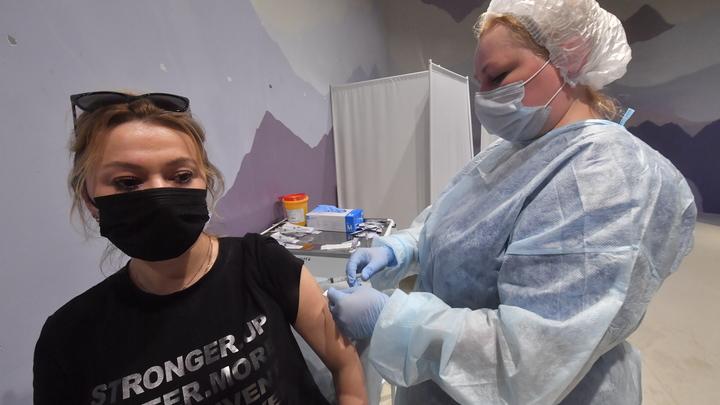 В ТРЦ Аура назвали причину закрытия мобильного пункта вакцинации
