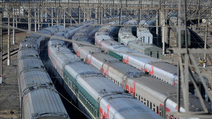 Транспортная полиция: В украинском заминированном поезде обнаружена граната