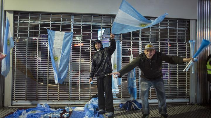 В Аргентине создан чёрный список футбольных хулиганов