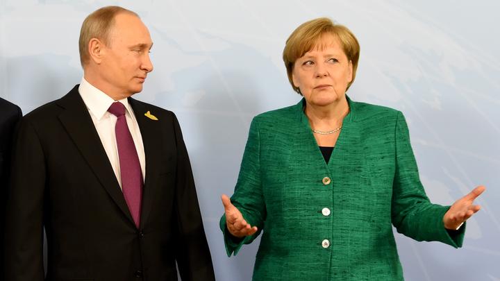 Путин рассказал Меркель, как провокационно  украинцы выживали русских офицеров