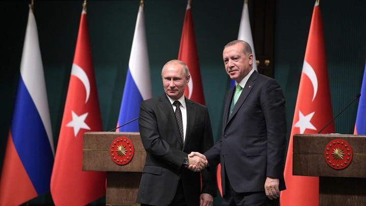 Путин и Эрдоган обсудили сирийский конгресс в ходе телефонных переговоров