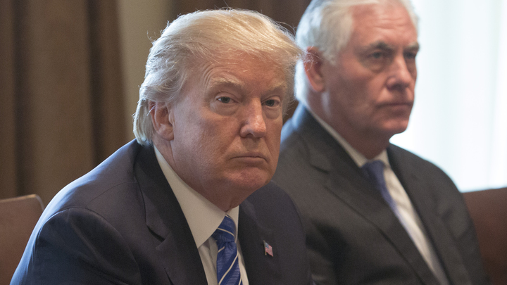 Тиллерсона уволили, чтобы не мешал дружбе Трампа и Ына против Путина - Deutsche Welle