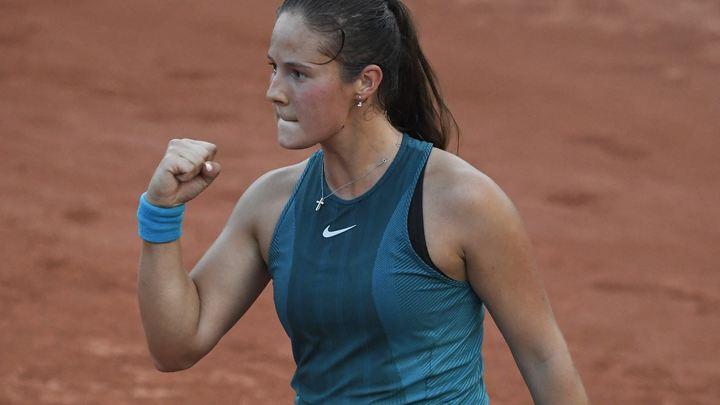 Дарья Касаткина добилась первого в карьере четвёртого круга Ролан Гаррос
